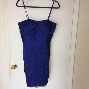 Caché Royal Blue sleeveless cocktail dress Size 12